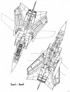 panavia tornado f2 2 model airplane plan