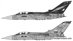 panavia tornado f3 model airplane plan