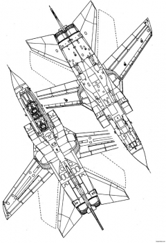 panavia tornado gr1 model airplane plan