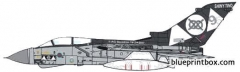 panavia tornado gr4 model airplane plan