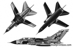 panavia tornado ids model airplane plan