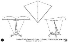 paresev model airplane plan