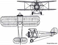 parnall plover 1922 england model airplane plan