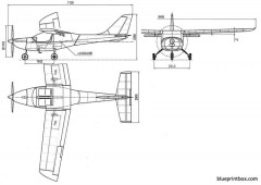 parrot model airplane plan