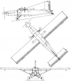 pc6 3v model airplane plan