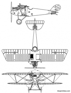 pfalz d iii model airplane plan