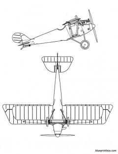 pfalz d iii 2 model airplane plan
