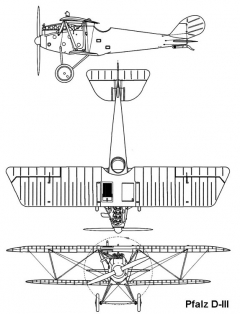 pfalzd3 1 3v model airplane plan