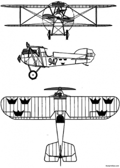 phoenix d iii 2 model airplane plan