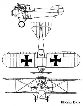 phonix d2a 3v model airplane plan