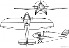 piaggio p2 1923 italy model airplane plan