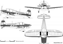 piel cp 301a emeraude model airplane plan