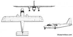 pilatus britten norman bn 2b islander model airplane plan