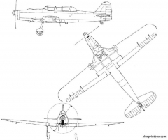 pilatus p2 model airplane plan