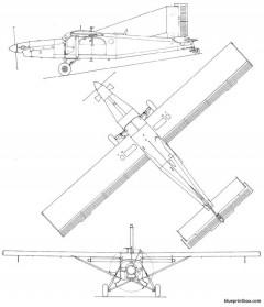 pilatus pc6 model airplane plan
