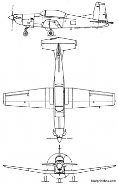pilatus pc 7 model airplane plan