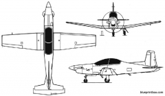 pilatuspc 9 model airplane plan