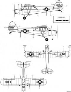 piper pa 18 super cub 2 model airplane plan
