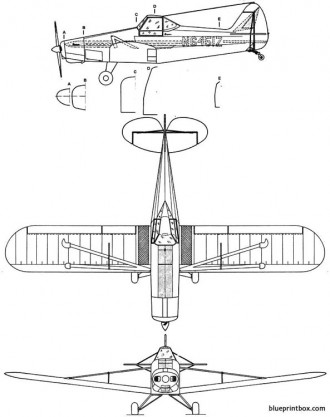 piper pa 25 pawnee model airplane plan