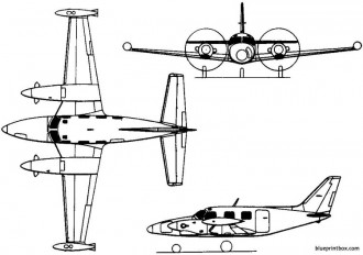3 Views of Airplanes for Model Airplane Building AeroFred