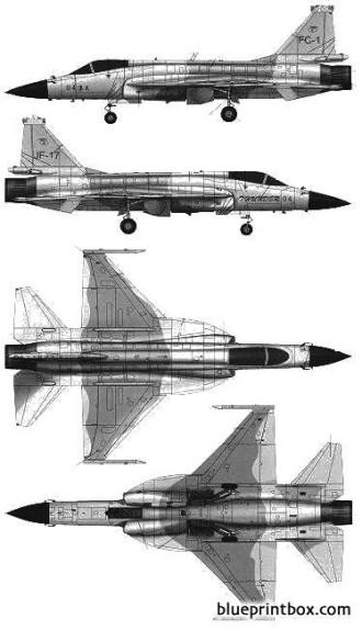 pla fc 1 fierce dragon model airplane plan
