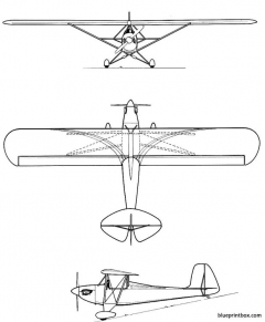 pober pixie model airplane plan