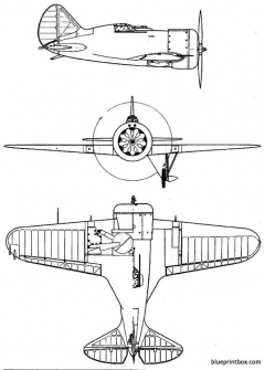polikarpov i 16 mosca rata 2 model airplane plan