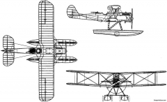 polikarpov mr 1 1925 russia model airplane plan
