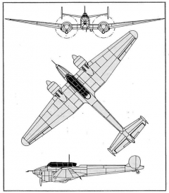 potez63 3v model airplane plan