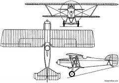 potez 26 1924 france model airplane plan