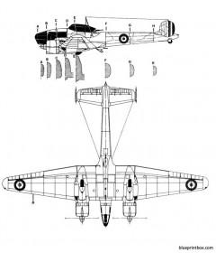 potez 63 11 2 model airplane plan