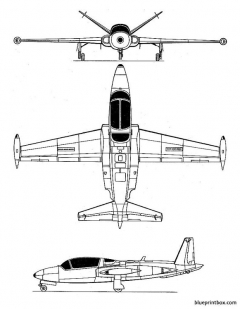 potez heinkel 191 model airplane plan