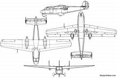 praga 211 model airplane plan