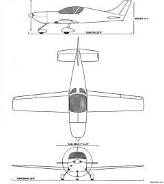 pulsar iii model airplane plan