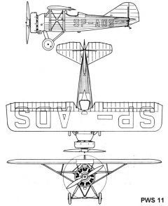 pws11 3v model airplane plan