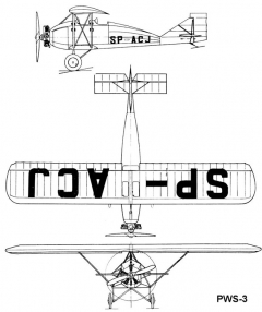 pws3 3v model airplane plan