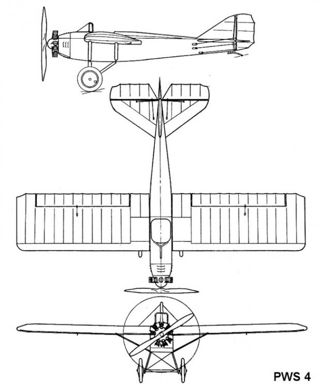 pws4 3v model airplane plan