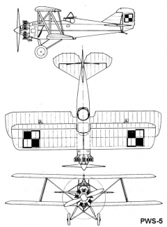 pws5 3v model airplane plan