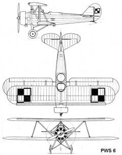 pws6 3v model airplane plan