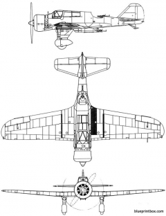 pzl 23 karas model airplane plan