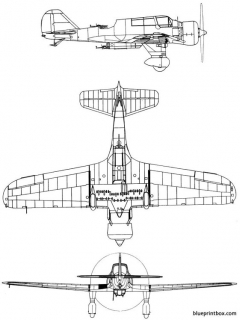 pzl 23 karas 2 model airplane plan