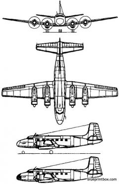 pzl mielec md 12 1959 poland model airplane plan