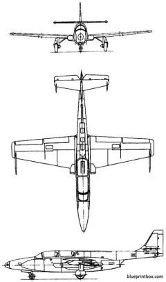 pzl mielec ts 11 iskra 1960 poland model airplane plan