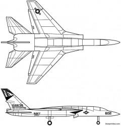 ra 5c vigilante model airplane plan