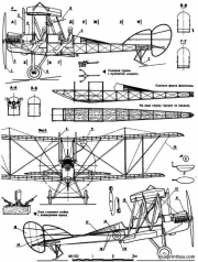 raf be 2e model airplane plan