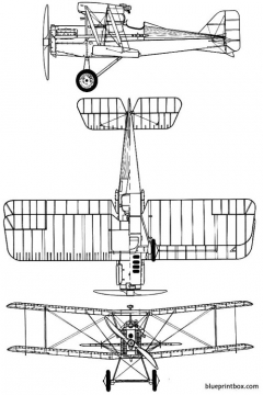 raf se 5a model airplane plan
