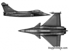 rafale navale m model airplane plan