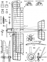 rafbe2 2 3v model airplane plan