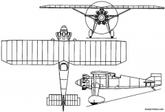 renard epervier 1928 belgium model airplane plan