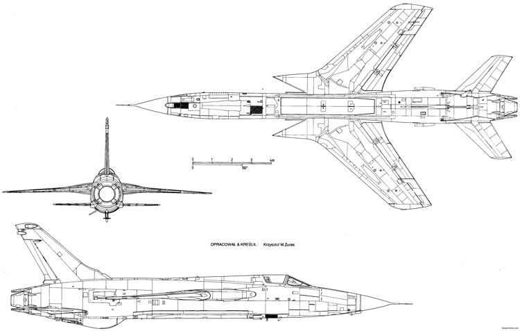 republic f 105 thunderchief 2 model airplane plan